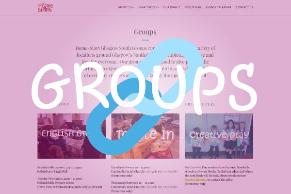 Glasgow Family Groups Web Link